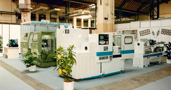 CMZ at the first machine tool fair in Bilbao