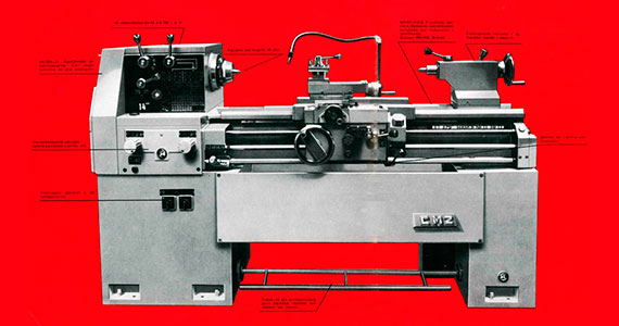 CMZ manufactures and markets its first parallel lathes